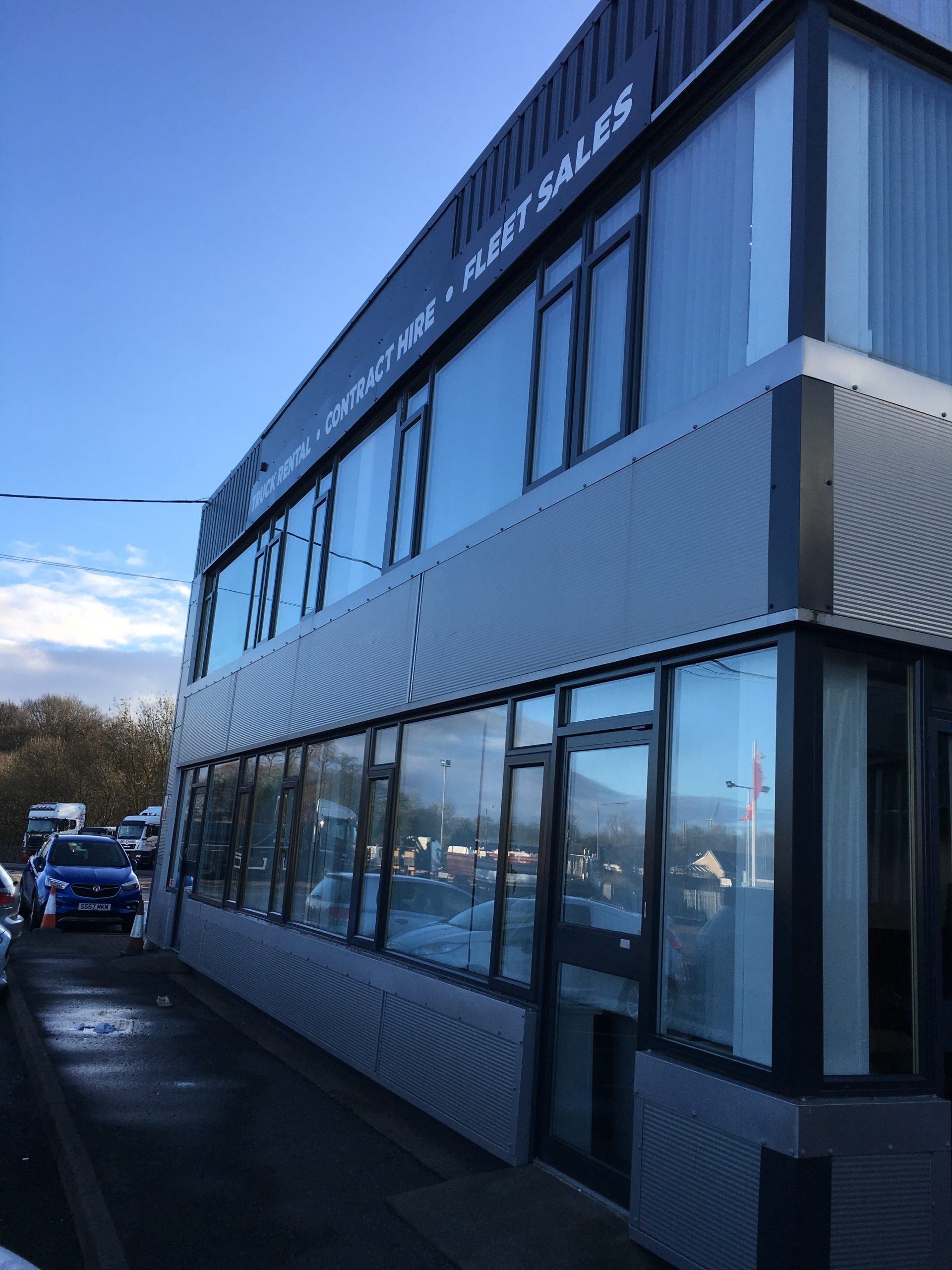 Easy Access Window Cleaning - Industrial cleaning in West Lothian